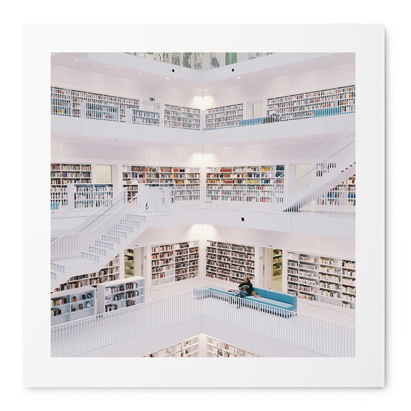 The Library - Art Prints by Post Collective - 1