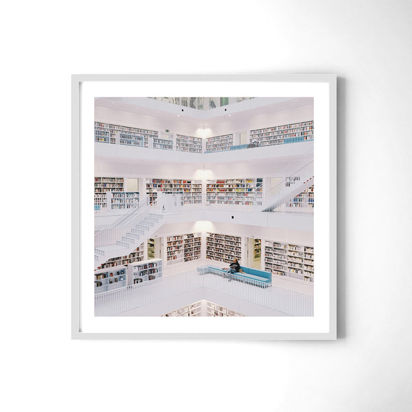 The Library - Art Prints by Post Collective - 4