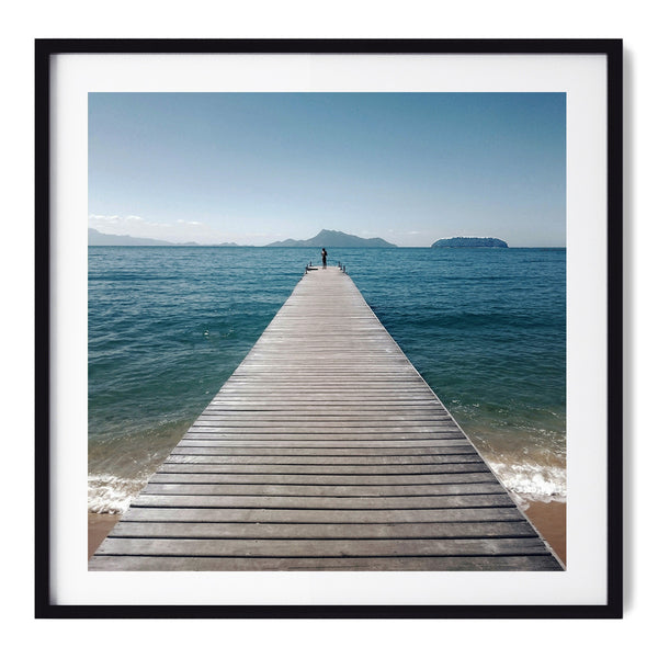 The Lucky Jetty - Art Prints by Post Collective - 1