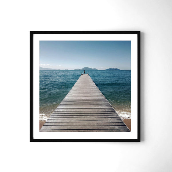 The Lucky Jetty - Art Prints by Post Collective - 2