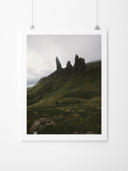 The Old Man Of Storr II - Art Prints by Post Collective - 2
