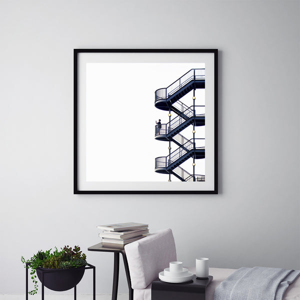 The Stairs - Art Prints by Post Collective - 5
