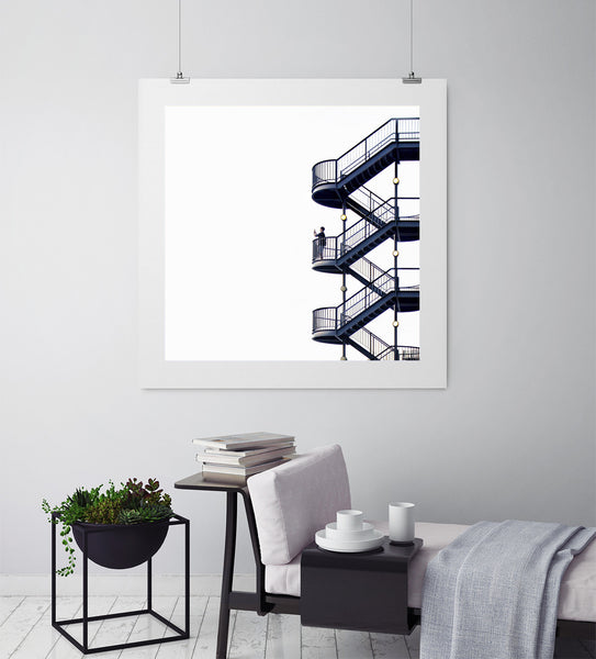 The Stairs - Art Prints by Post Collective - 3