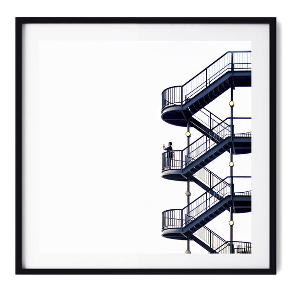 The Stairs - Art Prints by Post Collective - 1