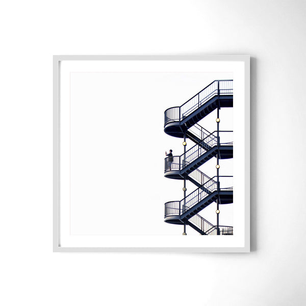 The Stairs - Art Prints by Post Collective - 4