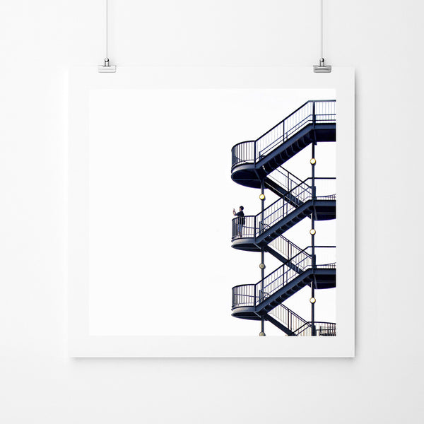The Stairs - Art Prints by Post Collective - 2