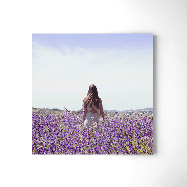 The Violet Field - Art Prints by Post Collective - 2