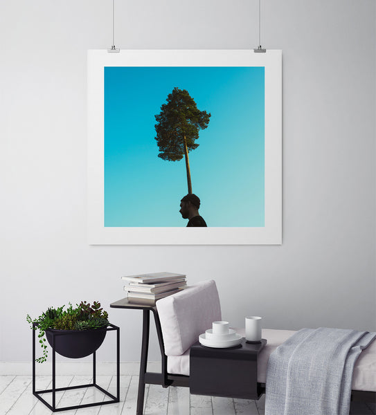 Treehat Self-Portrait - Art Prints by Post Collective - 3