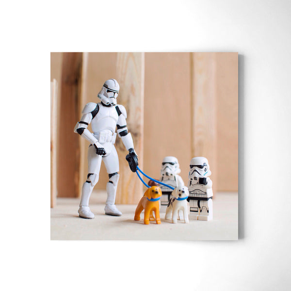 Trooper Family - Art Prints by Post Collective - 2