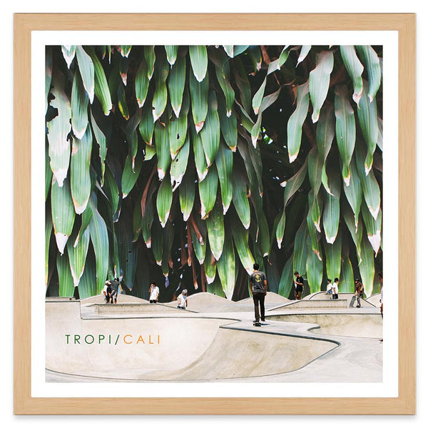 Tropi Cali - 40x40cm - Art Prints by Post Collective