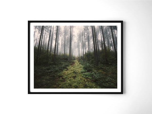 Unknown Road - Art Prints by Post Collective - 2