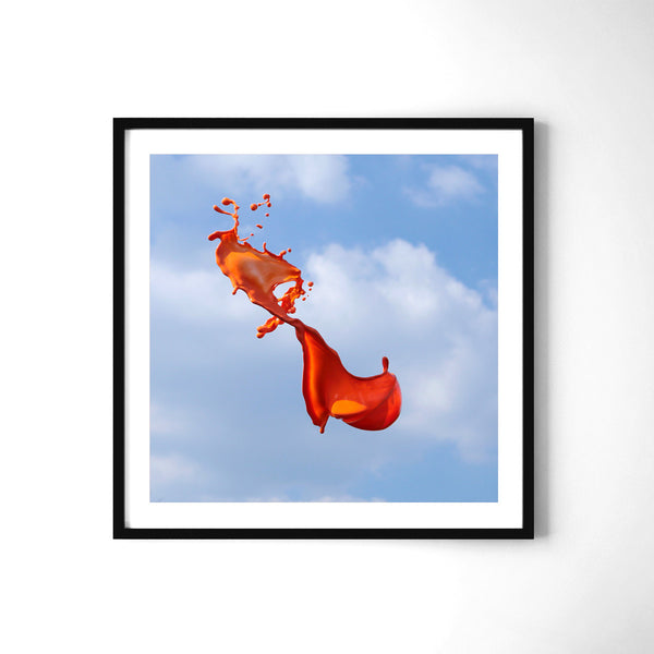 Very Orange - Art Prints by Post Collective - 2