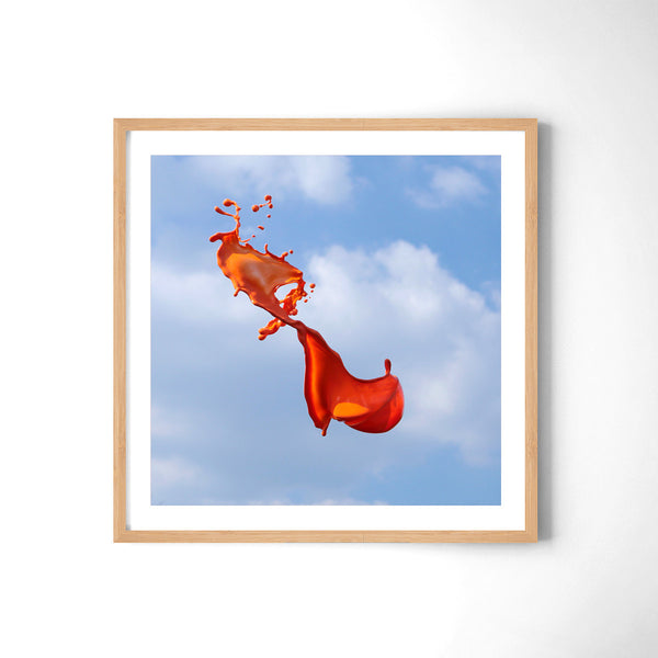 Very Orange - Art Prints by Post Collective - 3