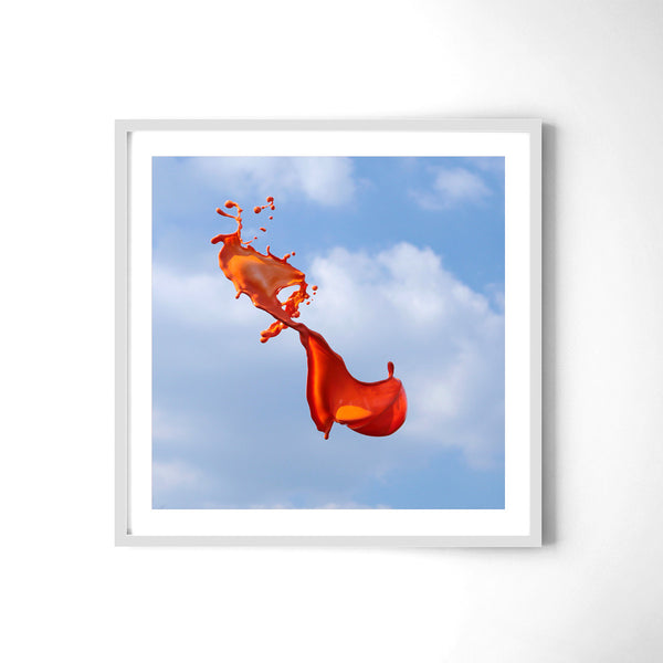 Very Orange - Art Prints by Post Collective - 4