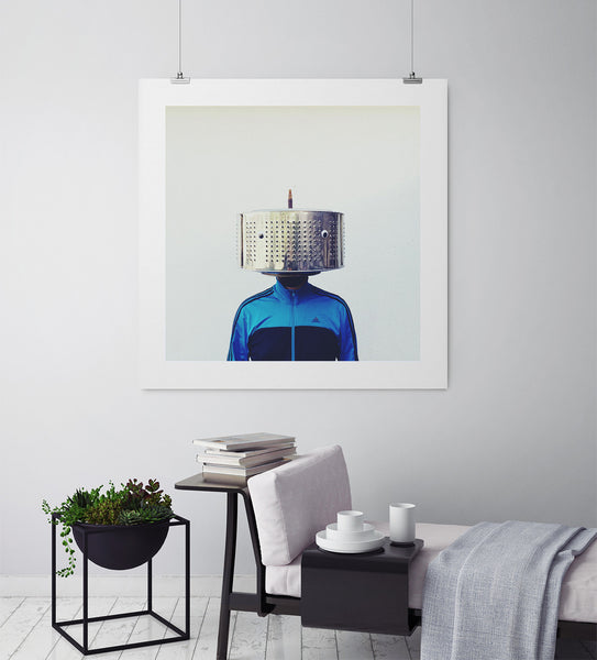 Washing Machine Man - Art Prints by Post Collective - 3