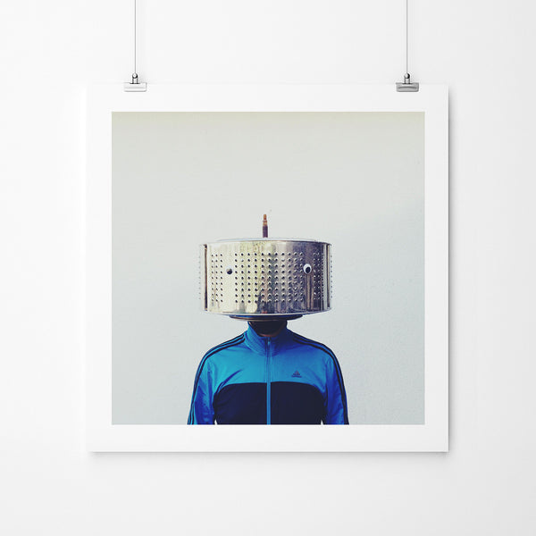 Washing Machine Man - Art Prints by Post Collective - 2