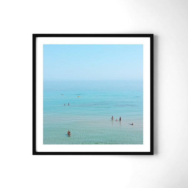 Where The Sea Meets The Sky - Art Prints by Post Collective - 2