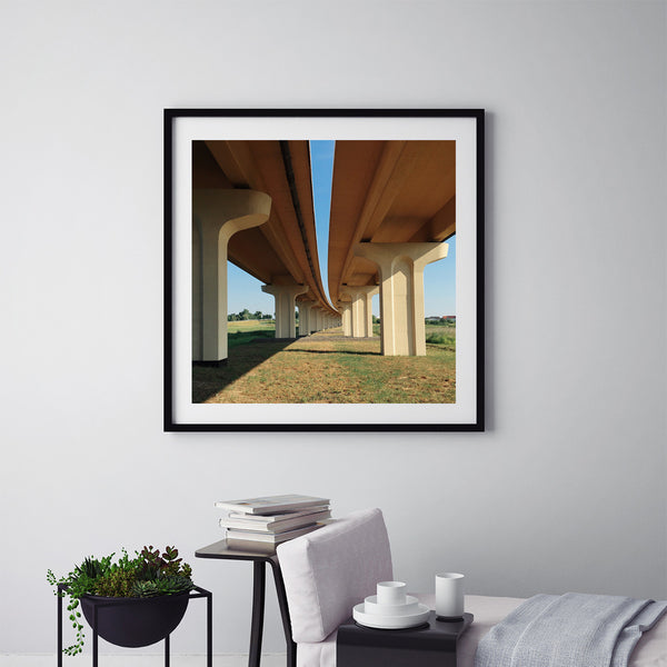 A Bridge - Art Prints by Post Collective - 5