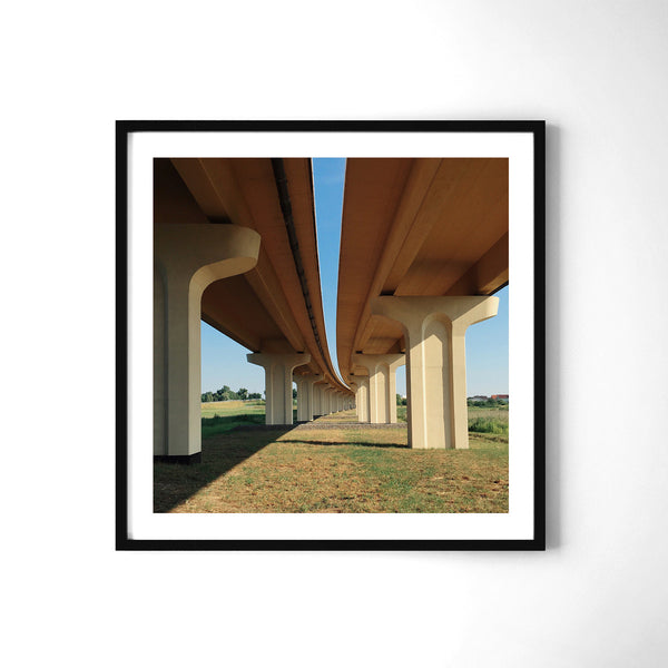 A Bridge - Art Prints by Post Collective - 2