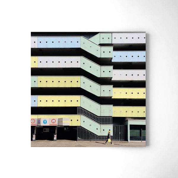 A Carpark - Art Prints by Post Collective - 2