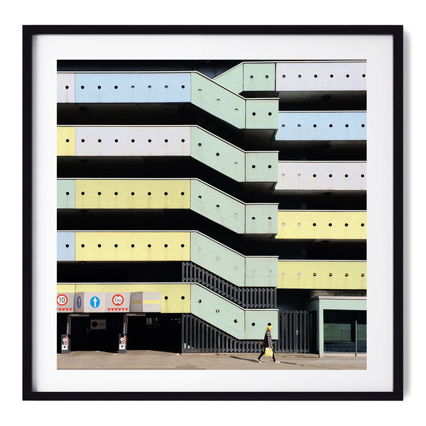 A Carpark - Art Prints by Post Collective - 1