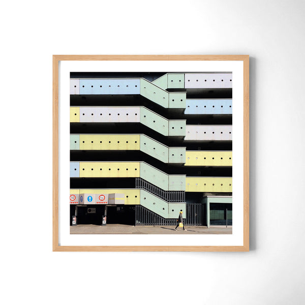 A Carpark - Art Prints by Post Collective - 3