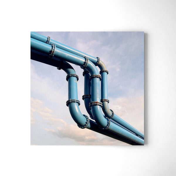 Pipes - Art Prints by Post Collective - 2