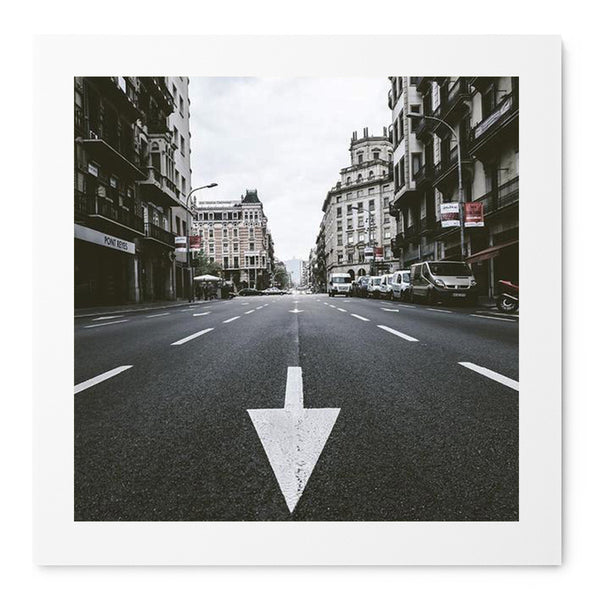 Streets Of Barcelona - Art Prints by Post Collective - 1