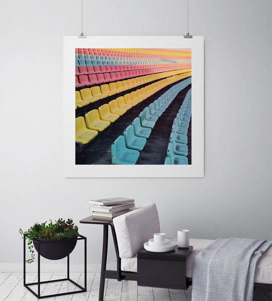 Take A Seat - Art Prints by Post Collective - 3