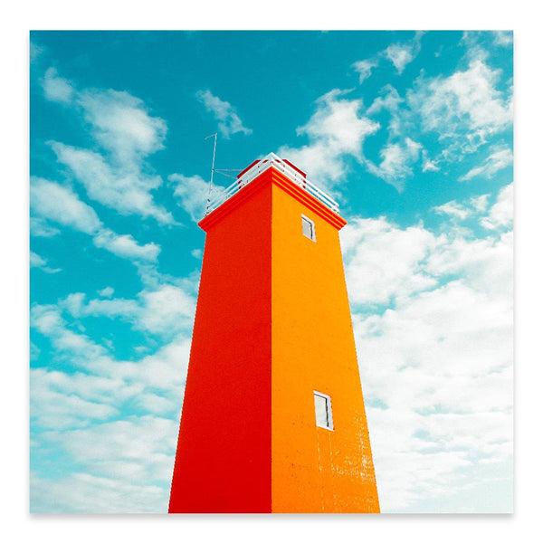 The Lighthouse - Art Prints by Post Collective