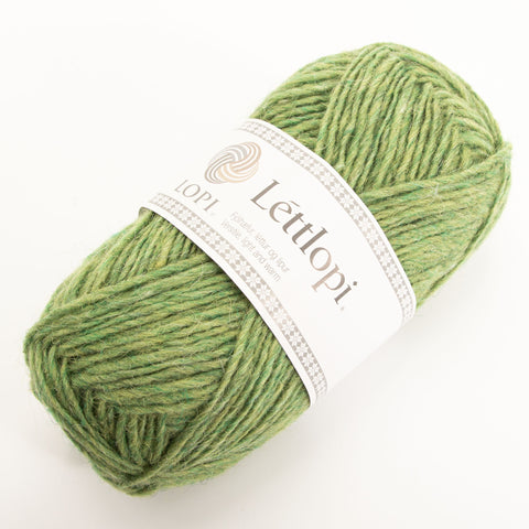Létt Lopi - Icelandic Wool Yarn - 1406 - vorgræn samkemba/spring green heather