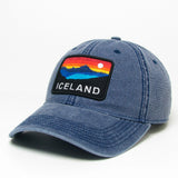 Trucker Dashboard Cap - Iceland Horizon - Navy