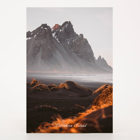 Picture Postcard - Vestrahorn (Batman Mountains)