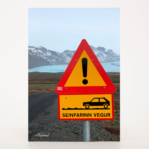 Picture Postcard - Slow Road in Iceland