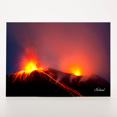 Picture Postcard - Volcanic Action