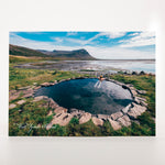 Picture Postcard - Nature Pool In West Iceland