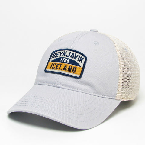 Relaxed Twill Cap - Reykjavík Squish - Silver