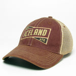 Old Favorite Trucker Cap - Iceland X - Burgundy