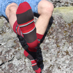Socks- Active Volcano - Volcano Colors - New