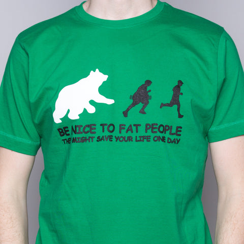 Fat People - T-Shirt - Kelly Green