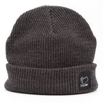 Beanie - City - Iceland Patch - Charcoal Gray - Idontspeakicelandic