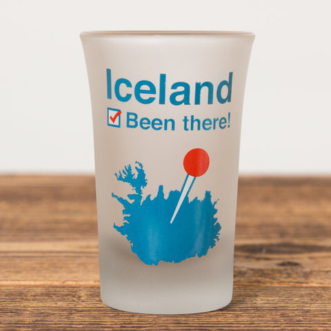 Been there - Shot Glass - Idontspeakicelandic