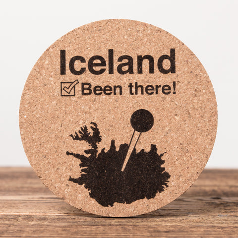 Been There - Set of 6 Cork Coasters