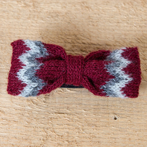 Wool Bowtie - Red