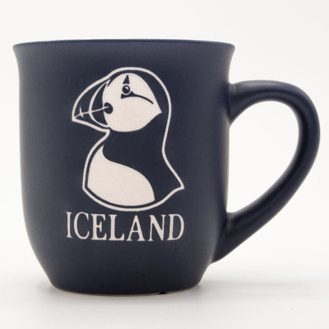 Puffin - Ceramic Mug - Blue