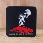 Land of Fire and Ice - Set of 6 Cork Coasters