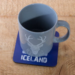 Icelandic Coat of Arms - Set of 6 Cork Coasters