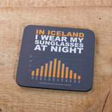 Sunglasses at Night - Set of 6 Cork Coasters