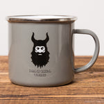 Drink Like a Viking - Camping Mug - Gray