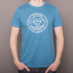 Dive Into It - T-Shirt - Salvage Mid Blue